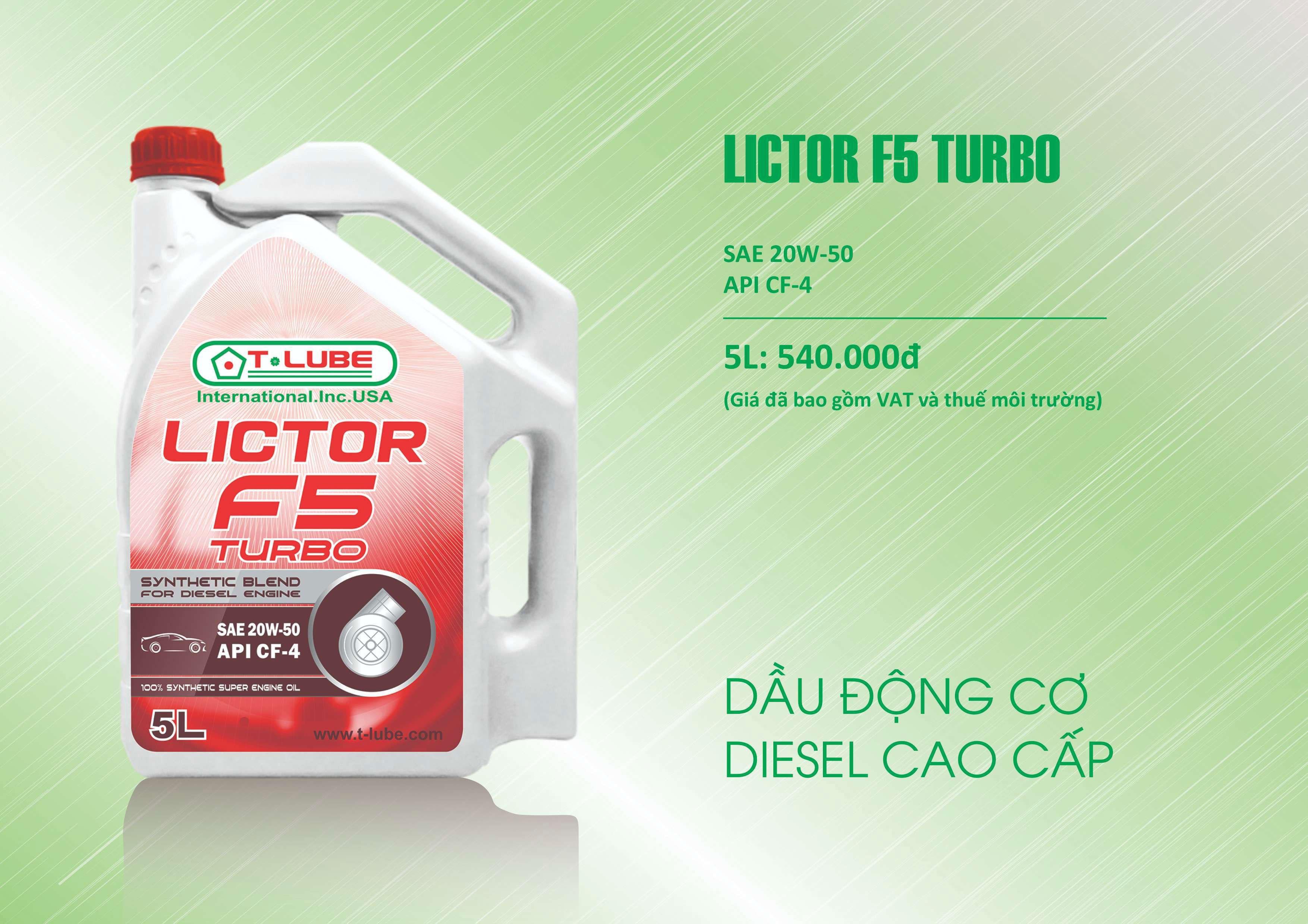 lictor f5 turbo
